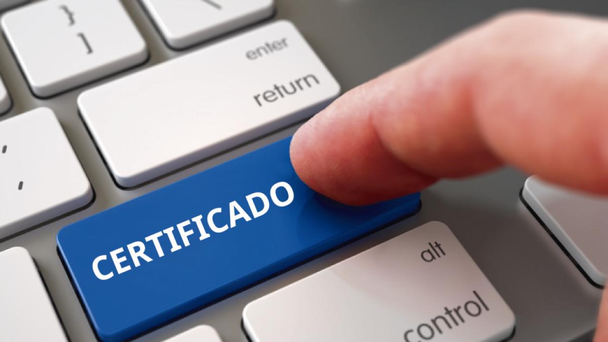 Certificados e credenciais